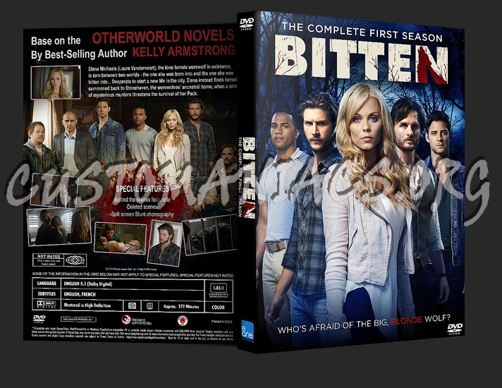 Bitten Season 1 dvd cover