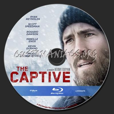 The Captive blu-ray label