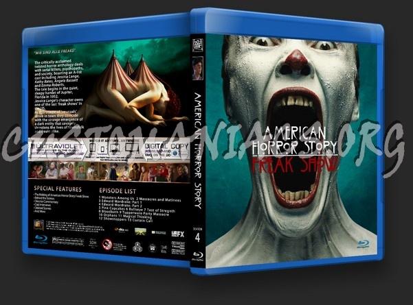 American Horror Story Season 4 blu-ray cover