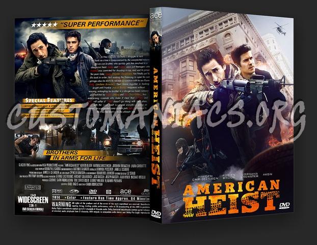 American Heist dvd cover