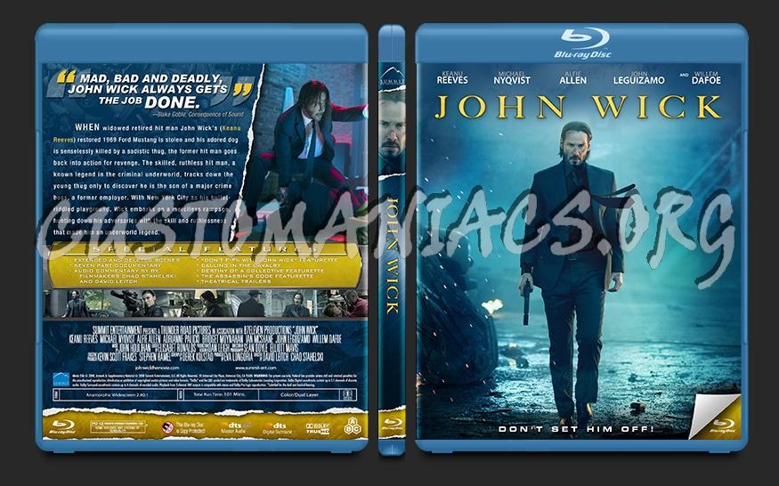 John Wick blu-ray cover