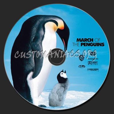 March of the Penguins dvd label