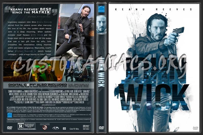 John Wick dvd cover