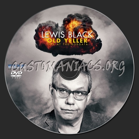 Lewis Black Live At the Borgata dvd label