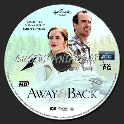 Away & Back dvd label