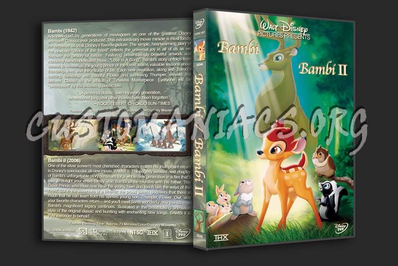 Bambi/Bambi II Double Feature dvd cover