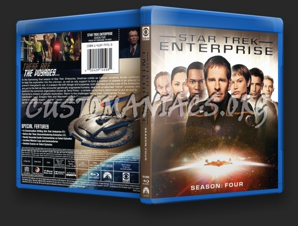Star Trek Enterprise Season 4 blu-ray cover