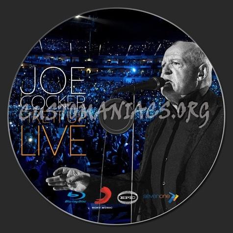 Joe Cocker Fire It Up Live blu-ray label