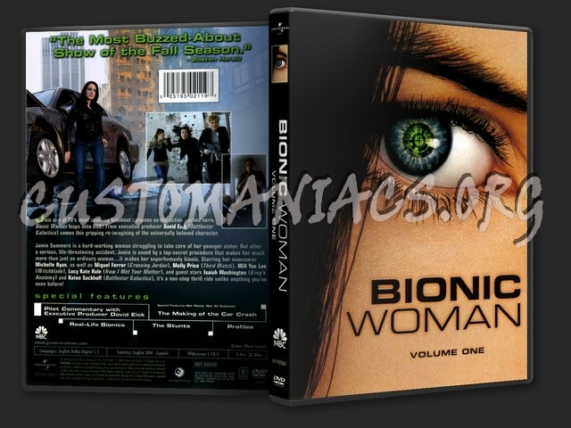 Bionic Woman: Volume 1 dvd cover
