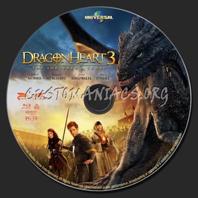 Dragonheart 3: The Sorcerer's Curse blu-ray label