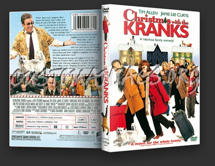 Christmas With The Kranks Dvd.Christmas With The Kranks Dvd Cover Dvd Covers Labels By