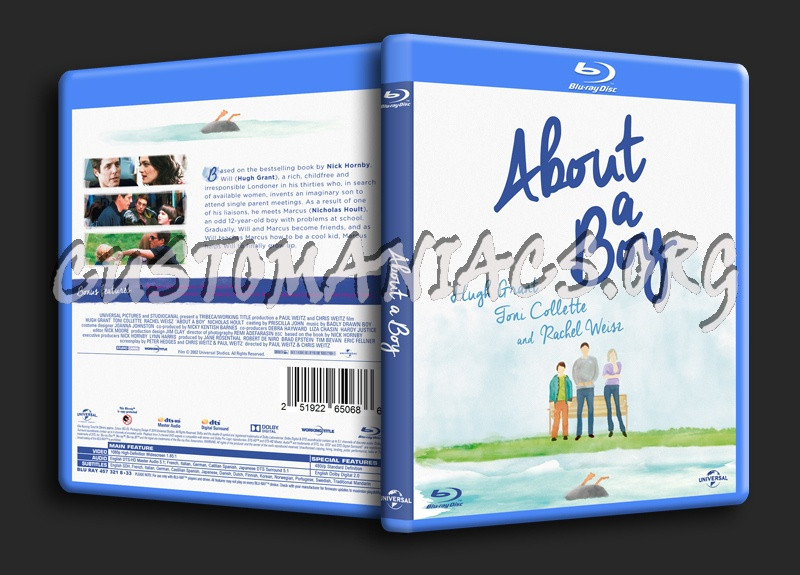 About A Boy blu-ray cover