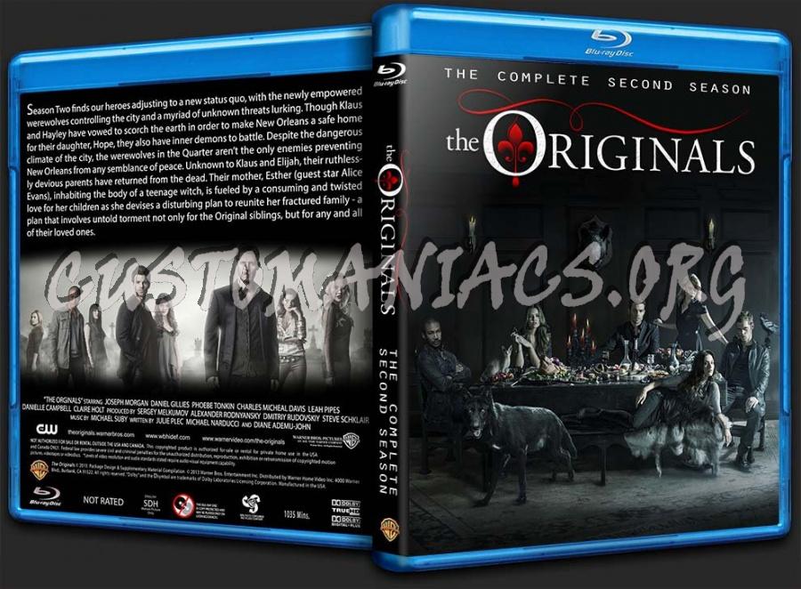 The Originals: Season Two blu-ray cover