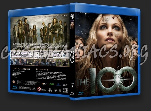 The 100 Season 2 blu-ray cover - DVD Covers & Labels by