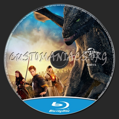 Dragonheart 3 The Sorcerer's Curse blu-ray label