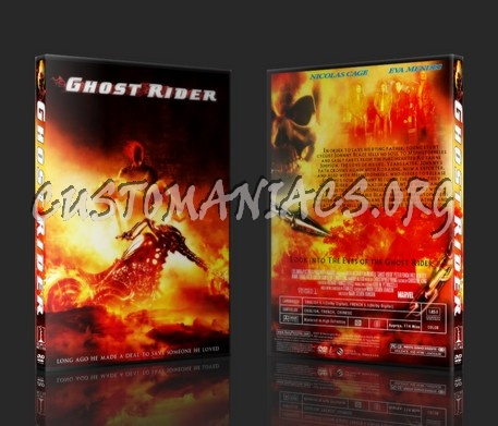 Ghost Rider dvd cover