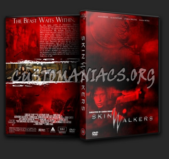 Skinwalkers dvd cover
