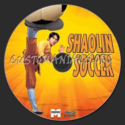 Shaolin Soccer blu-ray label