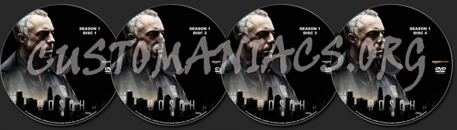 Bosch Season 1 dvd label