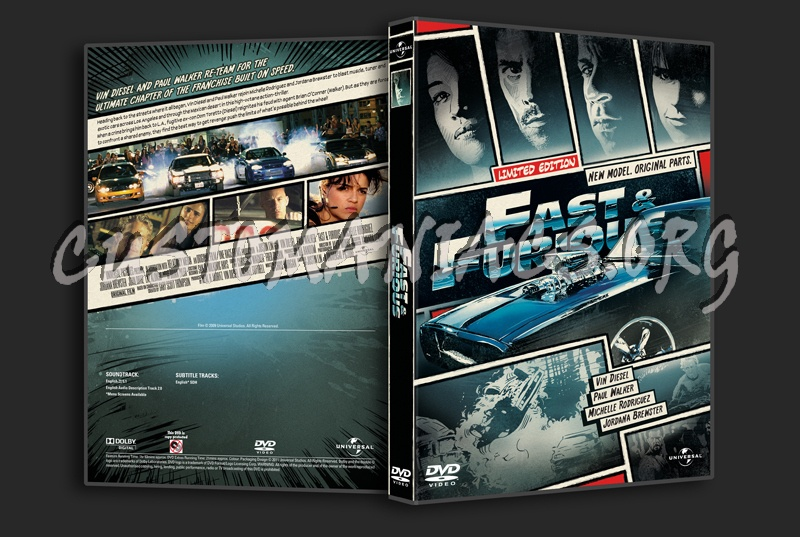 fast amp furious 4 dvd cover dvd covers amp labels by