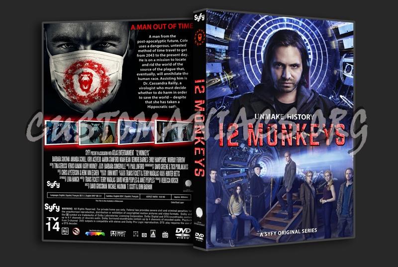 12 Monkeys Season 1 dvd cover