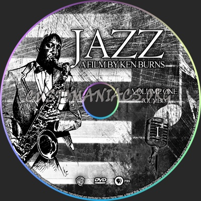 JAZZ A Ken Burns Film dvd label