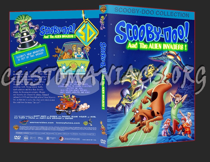 Scooby Doo and the Alien Invaders dvd cover