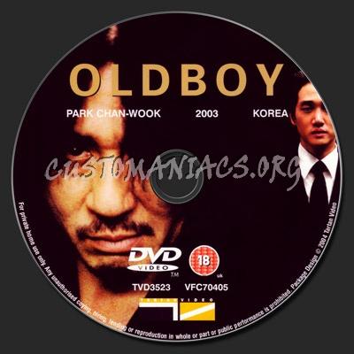 OldBoy dvd label