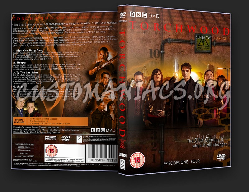 Torchwood Series 2 Part 1 dvd cover