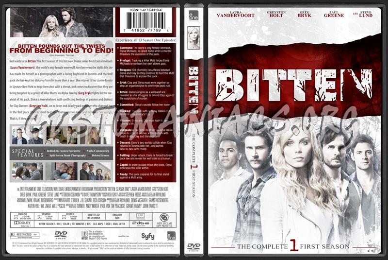 Bitten Season One dvd cover