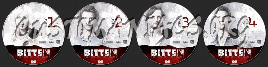 Bitten Season One dvd label