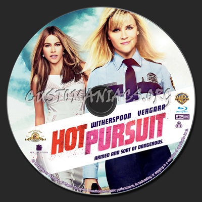 Hot Pursuit blu-ray label