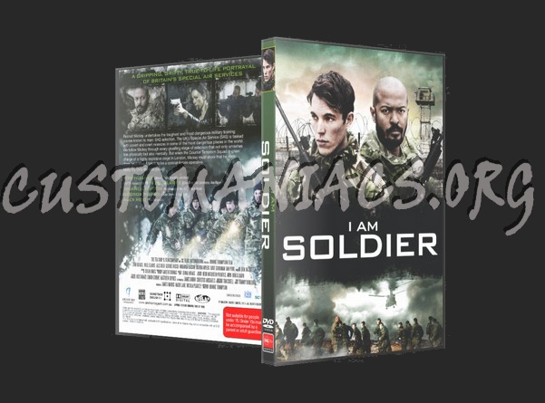 I am Soldier dvd cover