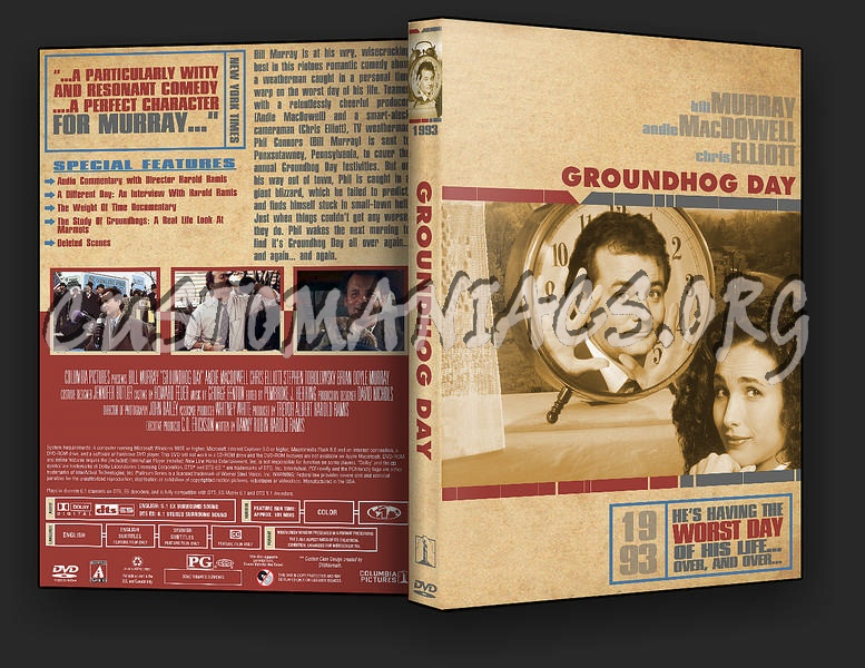 Groundhog Day dvd cover