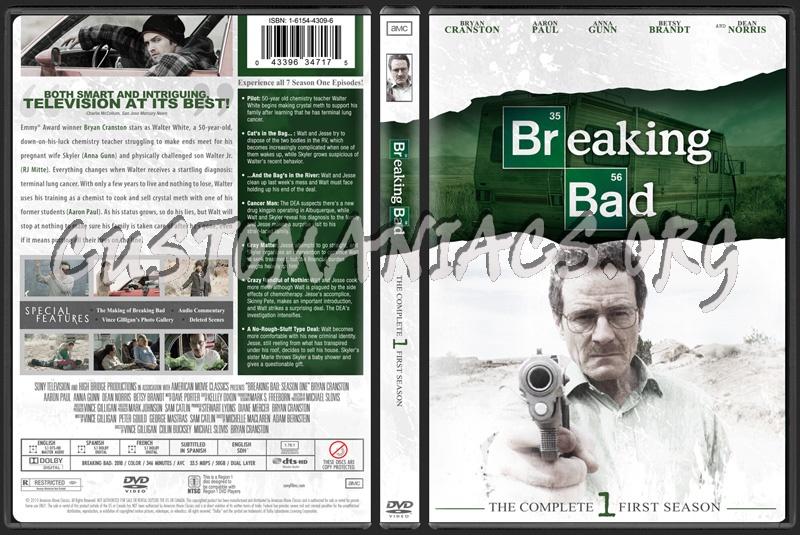 Breaking Bad Season 1 dvd cover