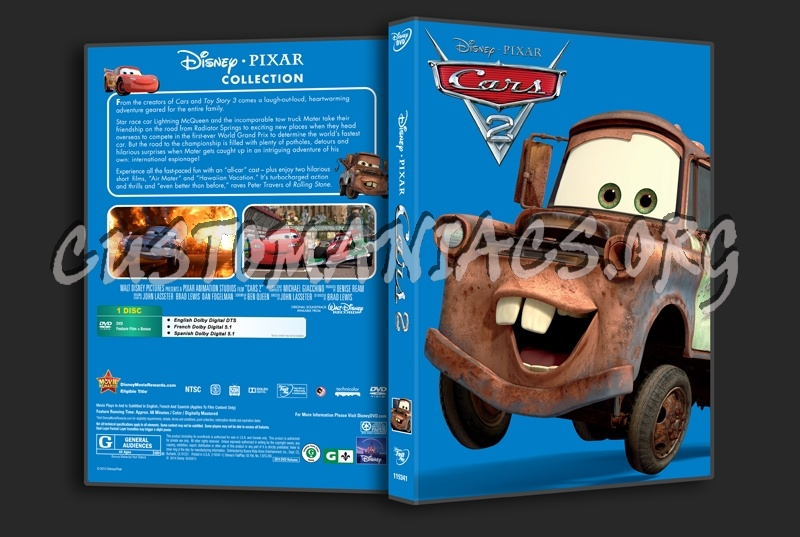 Cars 2 Dvd Cover Dvd Covers Labels By Customaniacs Id 223536