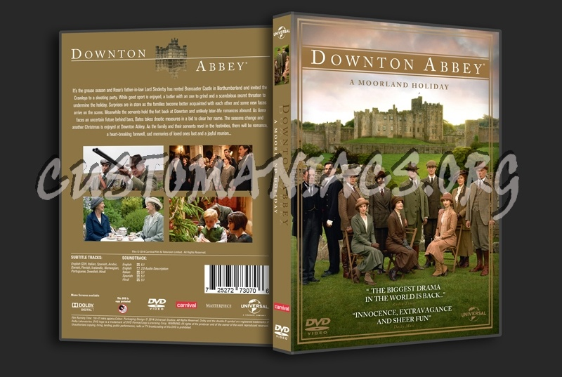 Downton Abbey A Moorland Holiday dvd cover