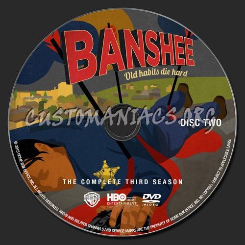 Banshee: Season 3 dvd label