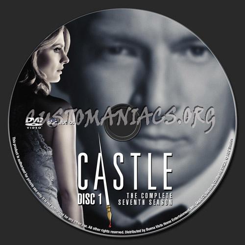 Castle Season 7 Dvd Label