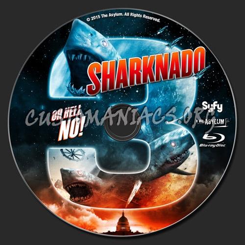 Sharknado 3 blu-ray label