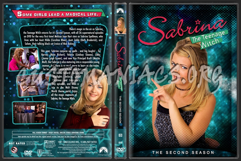 Sabrina The Teenage Witch - The Second Season dvd cover