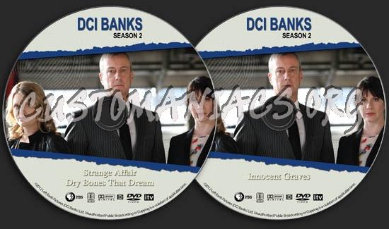 DCI Banks - Season 2 dvd label