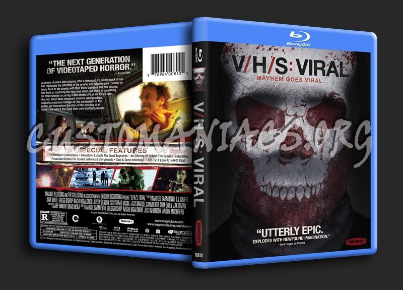 VHS: Viral aka V/H/S: Viral blu-ray cover - DVD Covers