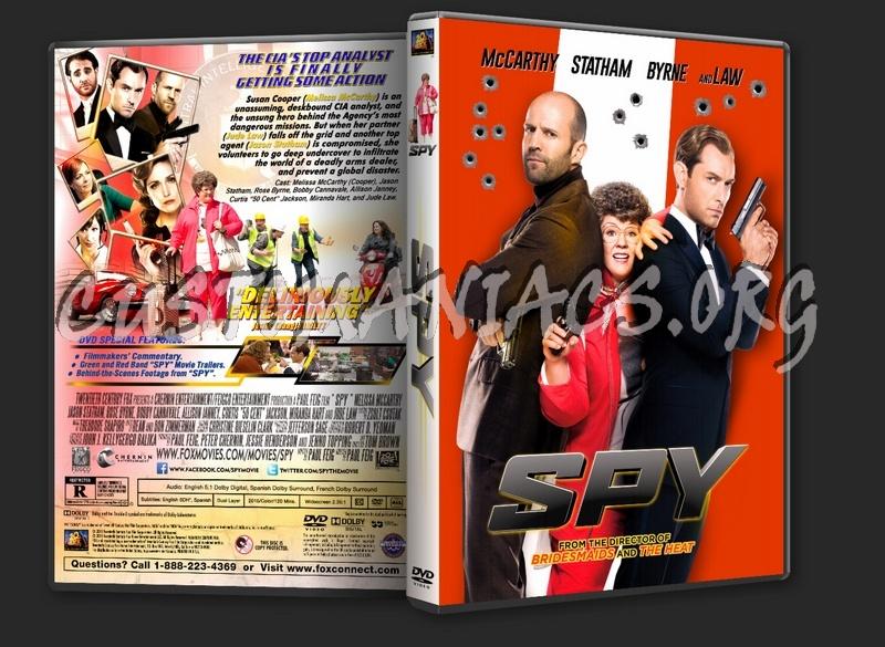 Spy (2015) dvd cover