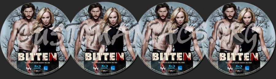 Bitten Season 2 blu-ray label