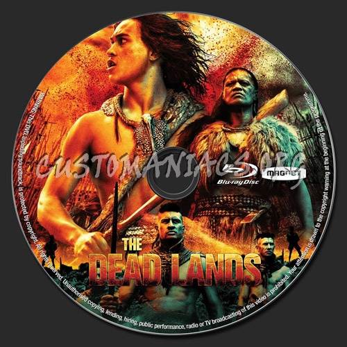 The Dead Lands blu-ray label
