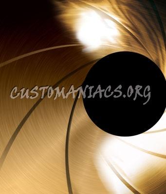 James Bond Gold Front Cover Background
