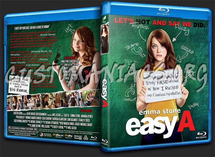 Easy A blu-ray cover