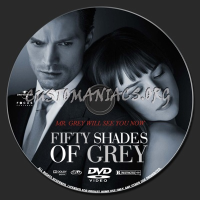 fifty shades of grey dvd label dvd covers labels by. Black Bedroom Furniture Sets. Home Design Ideas