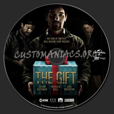 The Gift (2015) dvd label